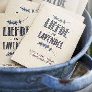 Liefde en Lavendel Trouwbedankje